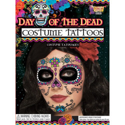 Tattoo 'Día de los muertos', Catrina Mujer