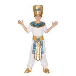 Disfraz de faraón infantil. Disfraz de egipcio para niño