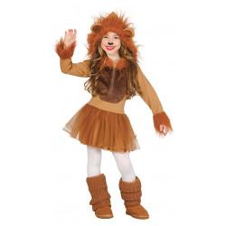 Disfraz de Leoncita Infantil - Disfraz de la Reina de la Selva para Niña