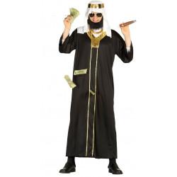 Disfraz de jeque árabe para adulto