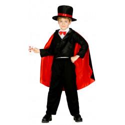 Disfraz de Mago de Fiesta infantil . traje de actor de magia para niño.