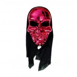 Máscara de Calavera Metalizada