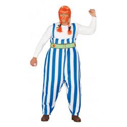 Disfraz de Obelix - Galo forzudo adulto