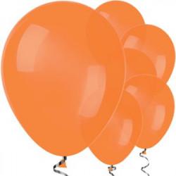 Globos Naranja 12 unidades