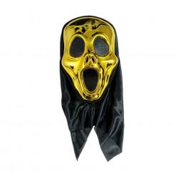 Máscara de Asesino Metálica