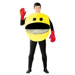 Disfraz de comilón adulto. Disfraz de Pacman Comecocos para adulto