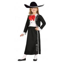Disfraz de Mariachi Infantil - Disfraz de Mejicana para Niña