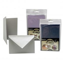 Set de Tarjetas y Sobres para Scrapbooking, 6 Unidades