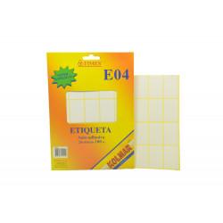 Pack Etiquetas Adhesivas 28x45mm - 100 Unidades E04