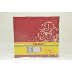 Álbum Flores rojo