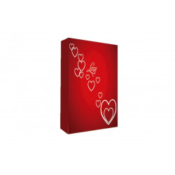 Álbum Corazones Rojo