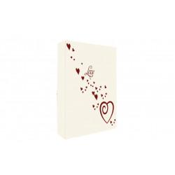 Álbum Corazones Blanco