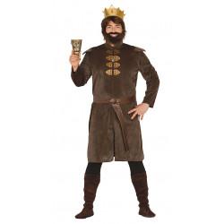 Disfraz de rey medieval adulto. Disfraz de conquistador para adulto