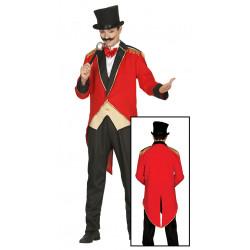 Disfraz de presentador del circo adulto. Disfraz de domador de leones