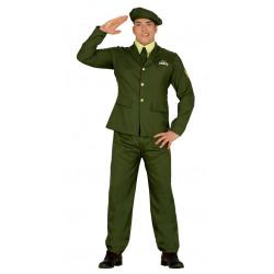 Disfraz de militar de ceremonia para adulto