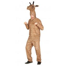 Disfraz de jirafa adulto. Pijama de jirafa para carnavales