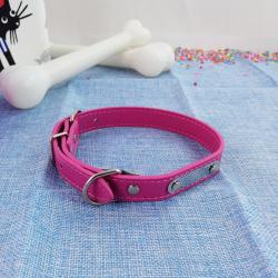 Collar de Perro con Chapa para Nombre, 48 cm
