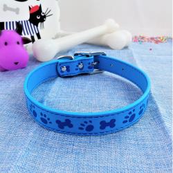 Collar de Perro 'Huellitas y Huesitos', Varios Colores
