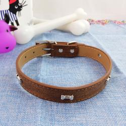 Collar de Perro con Huesitos, 50 cm
