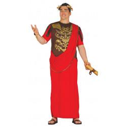 Disfraz de senador romano adulto. Disfraz de Cesar Rojo