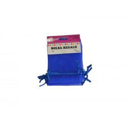 Bolsa de Tul 7x9cms Azul