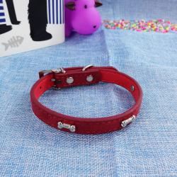 Collar p/perros ¨huesitos¨, 1.7*37 cm