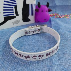 Collar p/perros ¨huella & huesito¨, 2*45 cm