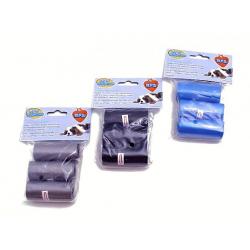 Set de 3 rollos c/ 15  bolsas c/u, para pascotas