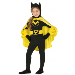 Disfraz de Batgirl Infantil - Disfraz de Heroína para Niña