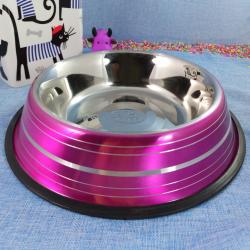 Cuenco de acero inoxidable ¨Ø25.5 cm¨, varios colores