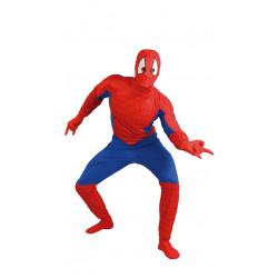 Disfraz de superhéroe arácnido adulto. Disfraz de Spiderman para adulto