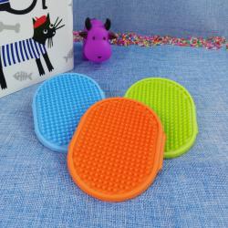 Cepillo de goma para mascotas, 12*9,5 cm