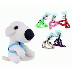 Petral Talla XS Ø10cm (25-35cm) de nylon para tu cachorro, varios colores