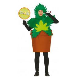 Disfraz de weed plant adulto. Disfraz de planta de marihuana para adulto