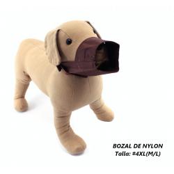 Bozal de Nylon para perros, talla 4XL (M/L)