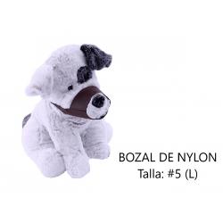 Bozal de Nylon para perros, talla 5 (L)