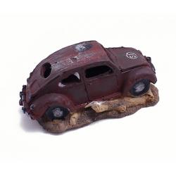 Ornamento para el acuario/pecera ¨Sedán (automóvil) de Resina¨