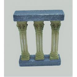 Ornamento para el acuario/pecera ¨Columnas antiguas Romanas de Resina¨
