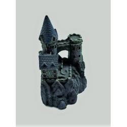 Ornamento para el acuario/pecera ¨Castillo Antiguo de Resina¨