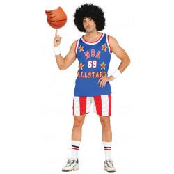 disfraz de jugador de baloncesto NBA para adulto