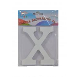 Letra X de Madera 11 cm