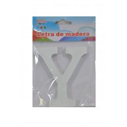 Letra Y de Madera 11 cm