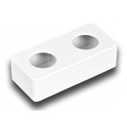 Bebedero rectangular de plástico