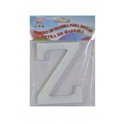 Letra Z de Madera 11 cm