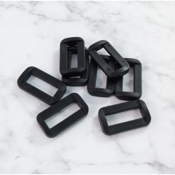 Hebillas de plástico para correas, 8 unidades 27 mm