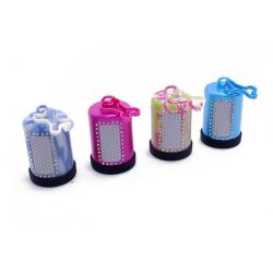 Dispensador de bolsas de plástico para mascotas