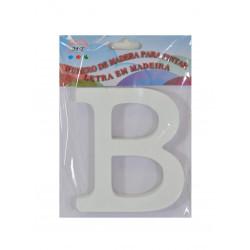 Letra B de Madera 11 cm