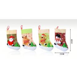Adorno de calcetín navideño