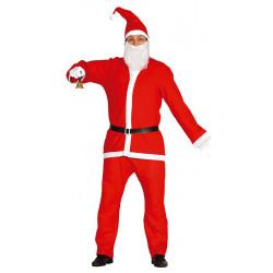 Disfraz Papá Noel adulto talla L