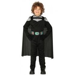 Disfraz señor oscuro infantil. Disfraz de Darth Vader para niño